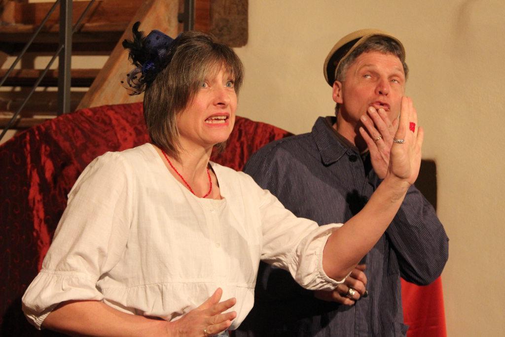"""Märchenabend """"Zwei Menschen"""" mit Klaus Reiner und Brunhilde Scheurer. Foto: Dorothea Müth"""