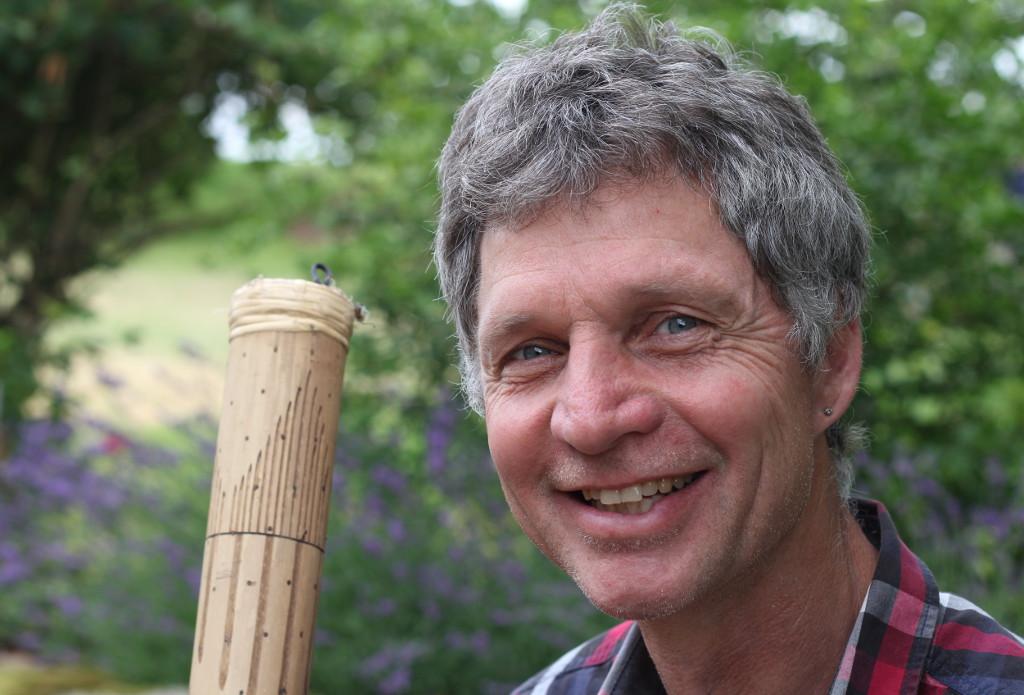 Klaus Reiner, Feuerlauftrainer, Märchenerzähler, Waldpädagoge